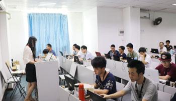 广州html5培训班授课现场